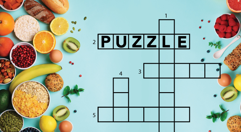 National Nutrition Month Crossword