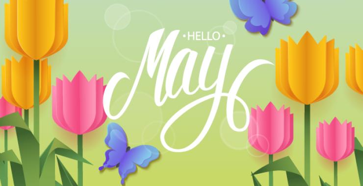 Hello May Image